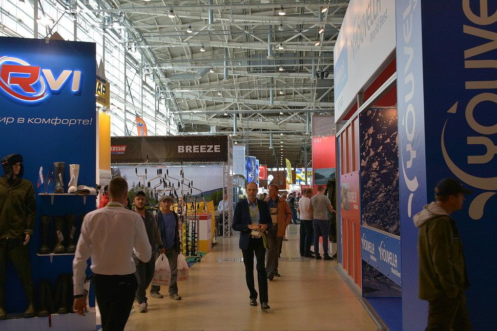 Флинк на Выставке в Москве