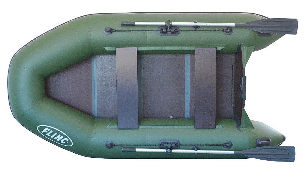 Надувная моторная лодка FLINC FT260L
