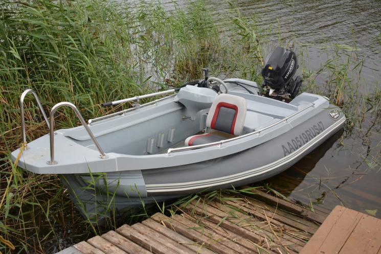 Лодка РИБ FORTIS 460Z с рецессом